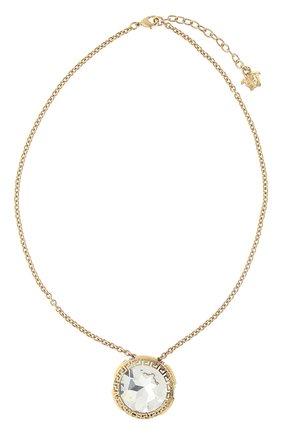 Женское колье greca VERSACE золотого цвета, арт. 1001469/1A00621 | Фото 1