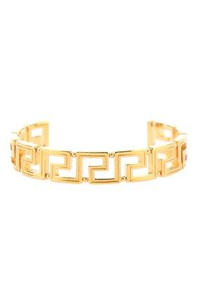 Женский браслет greca VERSACE золотого цвета, арт. 1001473/1A00620 | Фото 1