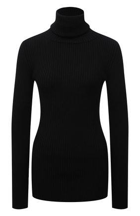 Женская шерстяная водолазка VETEMENTS черного цвета, арт. WA52KN700B 2901/BLACK   Фото 1