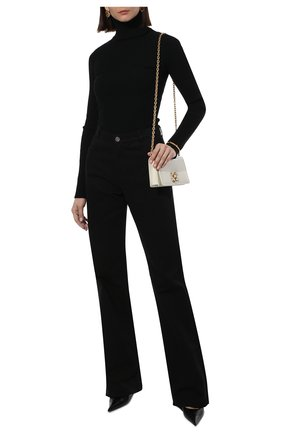 Женская шерстяная водолазка VETEMENTS черного цвета, арт. WA52KN700B 2901/BLACK   Фото 2