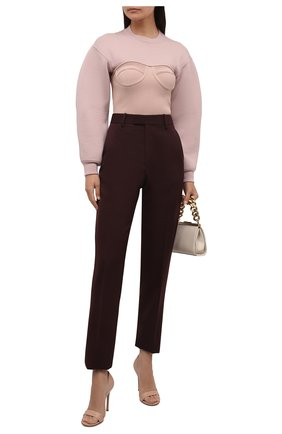 Женские кожаные туфли baiser GIANVITO ROSSI бежевого цвета, арт. G61686.15RIC.NAPPEAH | Фото 2