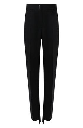 Женские шерстяные брюки GIVENCHY черного цвета, арт. BW50QQ13QB | Фото 1