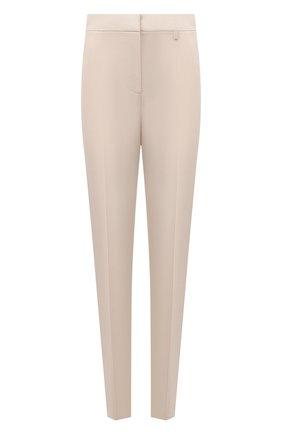 Женские шерстяные брюки GIVENCHY розового цвета, арт. BW50Q613N5 | Фото 1