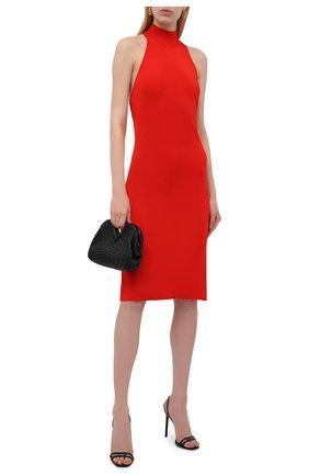 Женское платье из вискозы GIVENCHY красного цвета, арт. BW216B4ZA5 | Фото 2