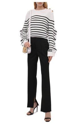 Женский пуловер REDVALENTINO черно-белого цвета, арт. WR3KC08N/63Q   Фото 2