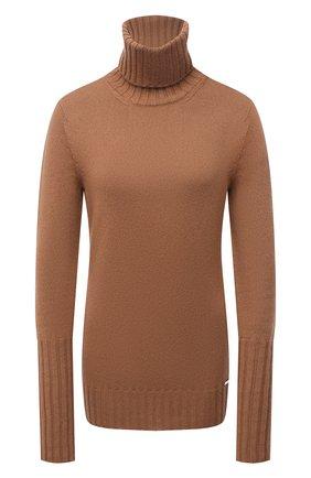 Женский кашемировый свитер KITON бежевого цвета, арт. D50728549   Фото 1