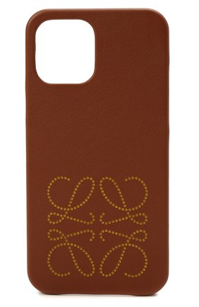 Чехол для iphone 12 pro max LOEWE светло-коричневого цвета, арт. C891D15X01 | Фото 1