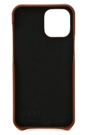 Чехол для iphone 12 pro max LOEWE светло-коричневого цвета, арт. C891D15X01 | Фото 2