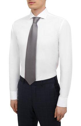 Мужская сорочка BOSS белого цвета, арт. 50454060   Фото 4
