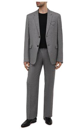 Мужские пенни-лоферы из кожи каймана MAGNANNI черного цвета, арт. 23258/C0C0ARCADE/CYAC | Фото 2