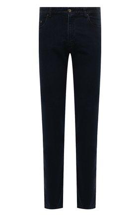 Мужские джинсы PAUL&SHARK темно-синего цвета, арт. C0P4009R/DUI | Фото 1