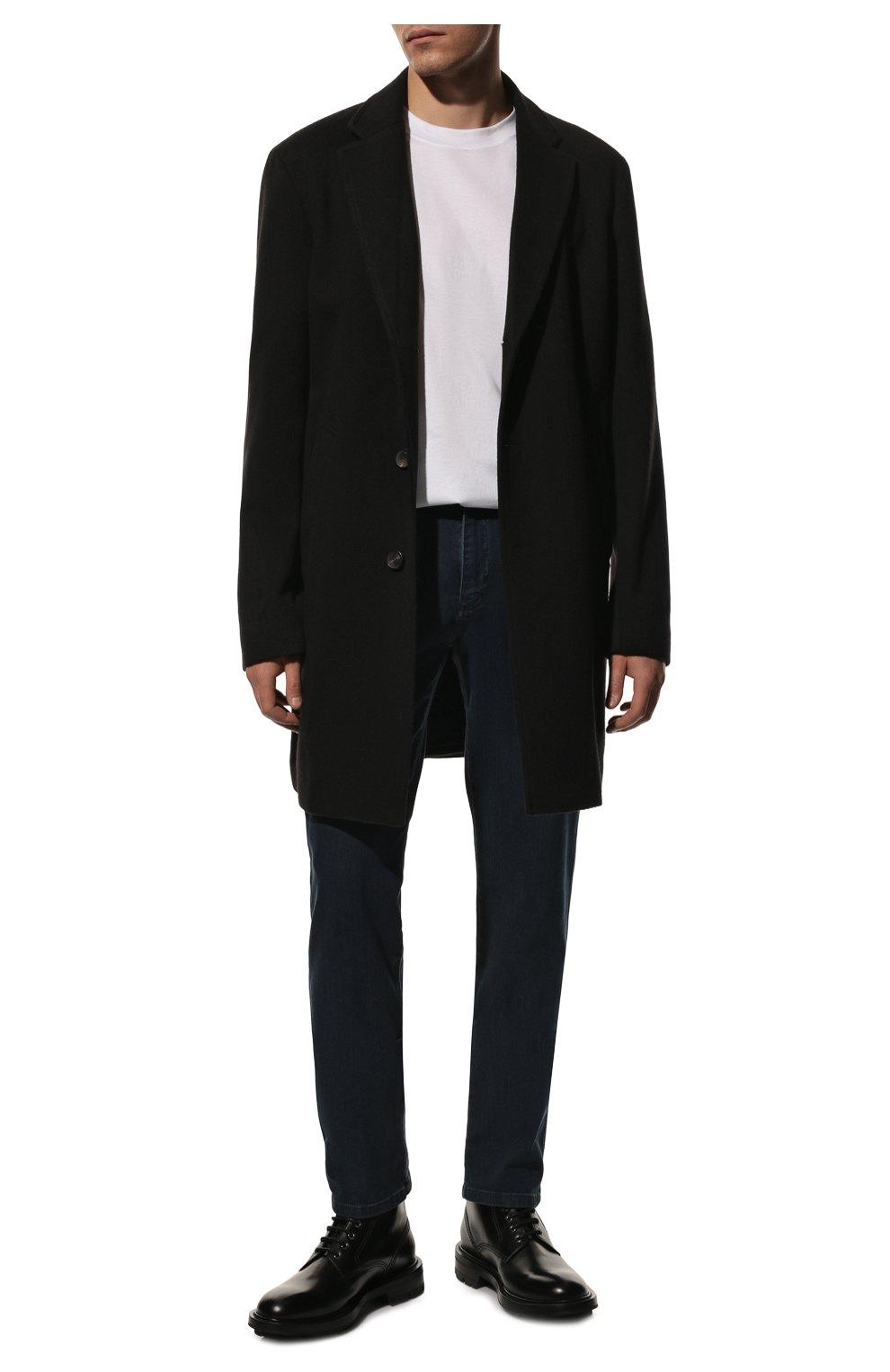 Мужские джинсы PAUL&SHARK темно-синего цвета, арт. C0P4009R/DUI   Фото 2
