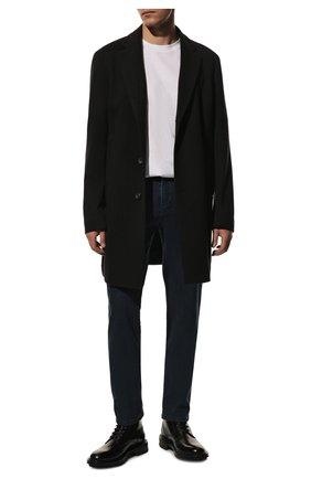 Мужские джинсы PAUL&SHARK темно-синего цвета, арт. C0P4009R/DUI | Фото 2