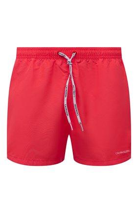 Мужские плавки-шорты CALVIN KLEIN розового цвета, арт. KM0KM00567 | Фото 1