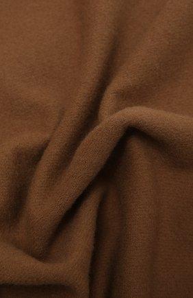 Мужской шерстяной шарф KITON коричневого цвета, арт. USCIACX0296A | Фото 2