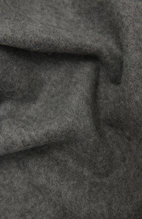 Мужской шерстяной шарф KITON серого цвета, арт. USCIACX0296A | Фото 2