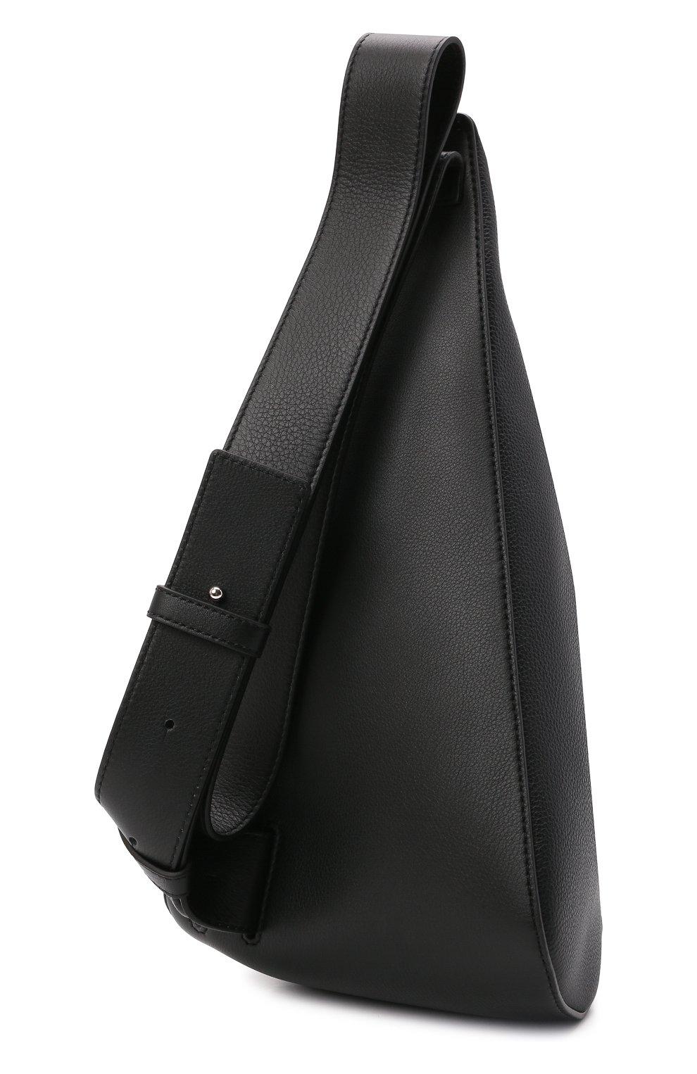 Мужской кожаный рюкзак anton LOEWE черного цвета, арт. B511A09X06 | Фото 3