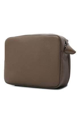 Мужская кожаная сумка xs military LOEWE светло-коричневого цвета, арт. 317.12AA72   Фото 3