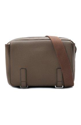 Мужская кожаная сумка xs military LOEWE светло-коричневого цвета, арт. 317.12AA72   Фото 5