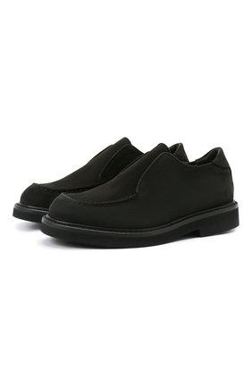 Детские кожаные туфли MONTELPARE TRADITION черного цвета, арт. MT20060/M0RBID0NE/18-27 | Фото 1