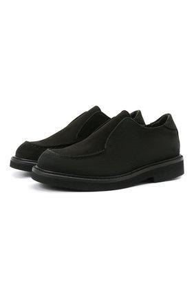 Детские кожаные туфли MONTELPARE TRADITION черного цвета, арт. MT20060/M0RBID0NE/36-41 | Фото 1