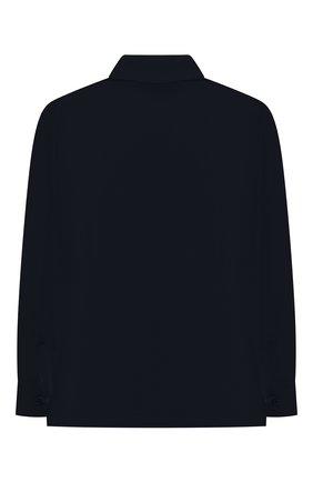 Детская хлопковая рубашка ALETTA синего цвета, арт. AM210437LR-28/4A-8A | Фото 2