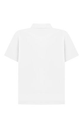 Детская хлопковая рубашка ALETTA белого цвета, арт. AM210437CR-28/9A-16A | Фото 2