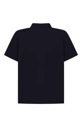 Детская хлопковая рубашка ALETTA синего цвета, арт. AM210437CR-28/9A-16A | Фото 2