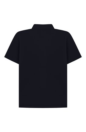 Детская хлопковая рубашка ALETTA синего цвета, арт. AM210437CR-28/4A-8A | Фото 2