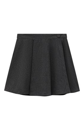 Детская юбка ALETTA темно-серого цвета, арт. A210559C-11R/9A-16A | Фото 1