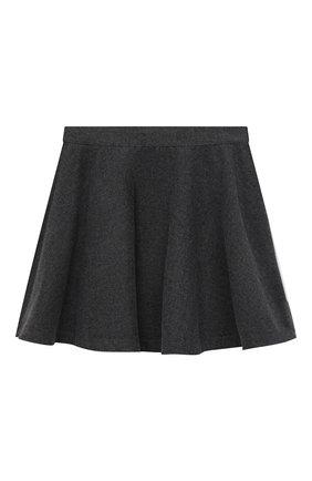 Детская юбка ALETTA темно-серого цвета, арт. A210559C-11R/9A-16A | Фото 2