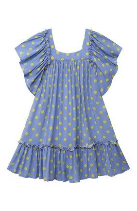 Детское платье из вискозы kate ZHANNA & ANNA голубого цвета, арт. ZAK06032021 | Фото 1