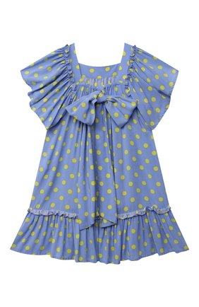 Детское платье из вискозы kate ZHANNA & ANNA голубого цвета, арт. ZAK06032021 | Фото 2