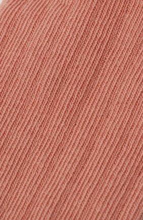 Детские хлопковые носки BONPOINT розового цвета, арт. H20BGICOTFIF(023)_823540 | Фото 2 (Материал: Текстиль, Хлопок)
