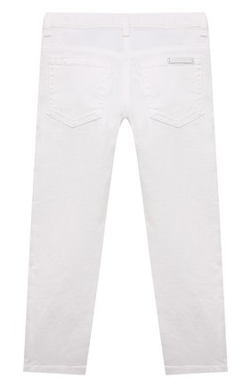 Детские джинсы DOLCE & GABBANA белого цвета, арт. L51F69/LD868/8-14 | Фото 2