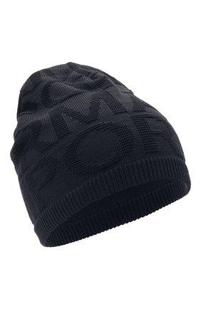 Детский комплект из шапки и шарфа EMPORIO ARMANI темно-синего цвета, арт. 407310/1A749 | Фото 2