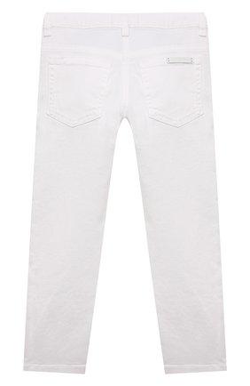 Детские джинсы DOLCE & GABBANA белого цвета, арт. L51F69/LD868/2-6 | Фото 2