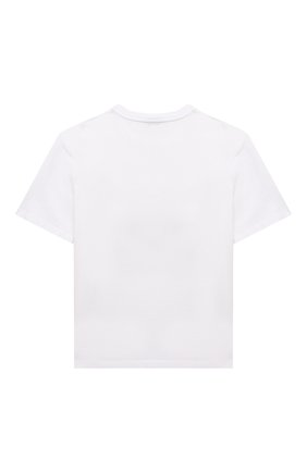 Детская хлопковая футболка DOLCE & GABBANA белого цвета, арт. L5JTAZ/G7XEA/8-14 | Фото 2