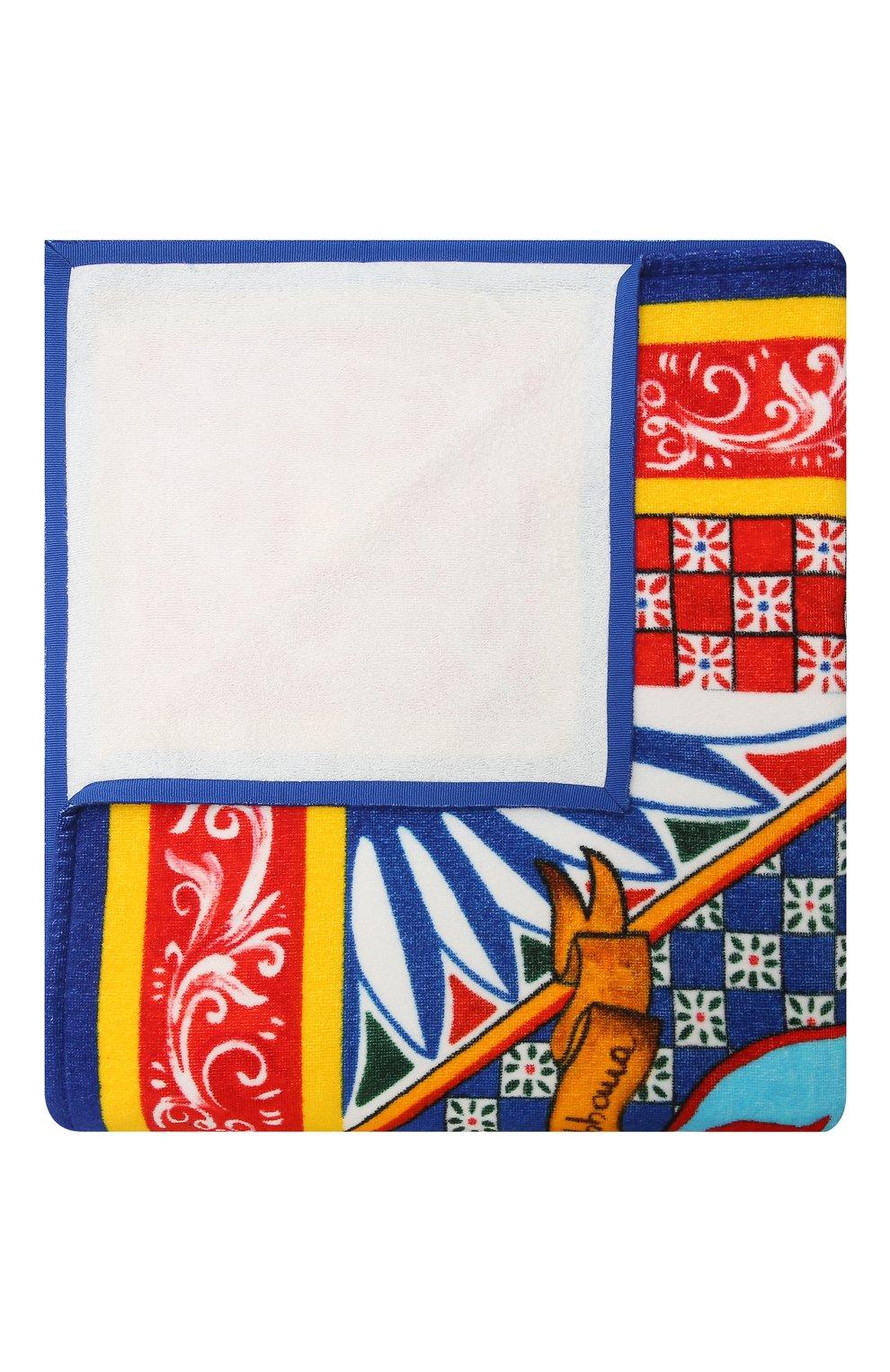 Детского хлопковое полотенце DOLCE & GABBANA разноцветного цвета, арт. LBJA21/G7WLY | Фото 1