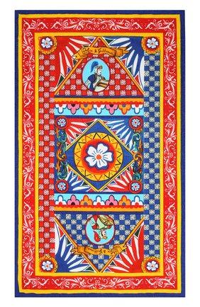 Детского хлопковое полотенце DOLCE & GABBANA разноцветного цвета, арт. LBJA21/G7WLY | Фото 3
