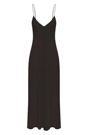 Женское шелковое платье THE ROW хаки цвета, арт. 5617W1099 | Фото 1