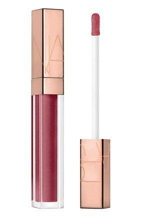 Блеск для губ afterglow lip shine, dark deeds NARS бесцветного цвета, арт. 34500342NS | Фото 1