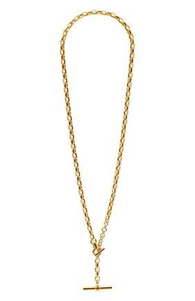 Женское колье BOTTEGA VENETA золотого цвета, арт. 657482/VAHU0   Фото 1
