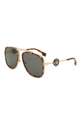 Женские солнцезащитные очки VERSACE коричневого цвета, арт. 2233-147087 | Фото 1