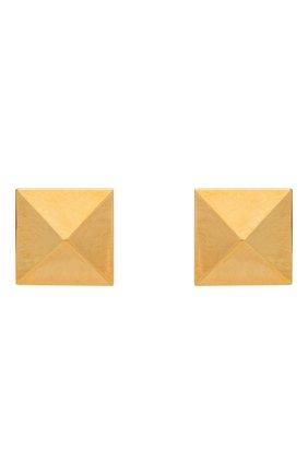 Женские серьги VALENTINO золотого цвета, арт. WW2J0G35/MET | Фото 1