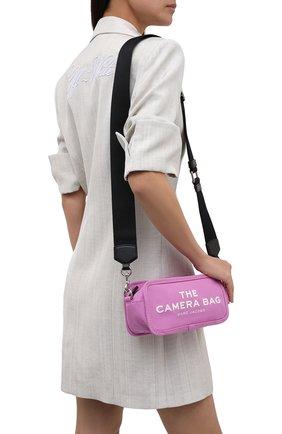 Женская сумка the camera MARC JACOBS (THE) розового цвета, арт. M0017040   Фото 2