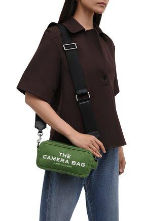 Женская сумка the camera MARC JACOBS (THE) зеленого цвета, арт. M0017040 | Фото 2