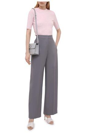 Женский пуловер из вискозы GIVENCHY розового цвета, арт. BW90D24ZA4 | Фото 2