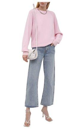 Женский кашемировый пуловер GIVENCHY розового цвета, арт. BW90CM4Z9K | Фото 2