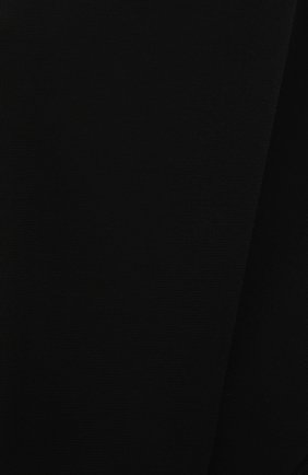 Женская футболка из вискозы GIVENCHY черного цвета, арт. BW60U93047   Фото 5 (Принт: Без принта; Рукава: Короткие; Длина (для топов): Стандартные, Укороченные; Стили: Спорт-шик; Женское Кросс-КТ: Футболка-одежда; Материал внешний: Вискоза)